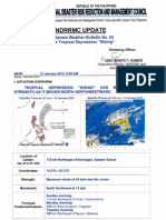 "NDRRMC SWB no. 2 Tropical Depression ""Bising"""