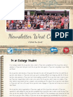 Newsletter West Coast #1