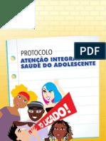 Protocolo. Atenção Integral à Saúde do Adolecente