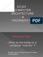 EC303 - Chapter 1 Computer Architecture Organization