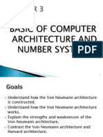 EC303 - CHAPTER 3 BASIC OF COMPUTER ARCHITECTURE AND NUMBER
