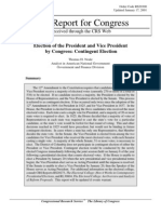 Election of the President and Vice President