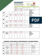 Examenes CPN y Administracion - UNSE 2013