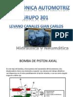 Bomba de Pistones Axiales