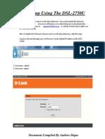 UConfig 3 du Grouteur DLINK DSL-