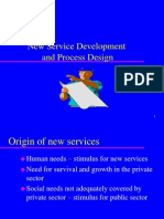 Chap 4 New Service Development and Process Design