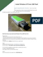 WinToFlash Guide - Insta..