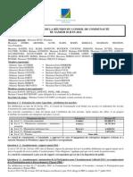 Compte-rendu AG communauté de communes d'Avranches - 30/06/2012