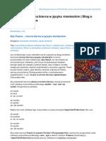 Das Passiv – strona bierna w języku niemieckim