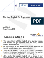 Effective English for engineers