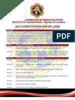Nfjpia Region III Constitution & by-laws - Final Version