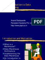 IntroductionToDataWarehousing(CSI 99 Mumbai)