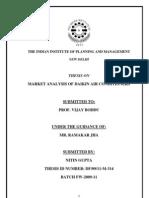 Market Analysis of Daikin Air Conditioners