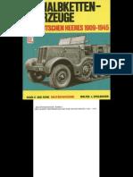 [MotorBuchVerlag Militärfahrzeuge 006] [Spielberger] Die HalbKettenfahrzeuge des Deutschen Heeres 1909-1945