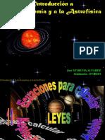 Leyes de Kepler y Newton