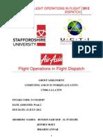 CITW in Flight Operations/Flight Dispatch