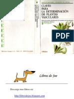 Claves para la determinación de plantas vasculares. Bonnier