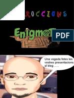 Instruccions inici del projecte EnigmaTic