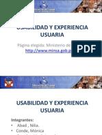 Usabilidad y Experiencia Usuaria-final