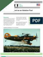 Ethanol as Aviation Fuel