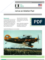 Ethanol as Aviation Fuel