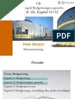 U8 Budgetering Och Budgeteringens Grunder