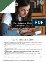2013 Plan de Lectura