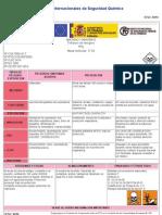Ficha Internacional Del Amoniaco