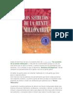 los secretos de la mente millonaria resumen