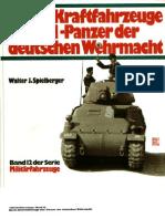 [MotorBuchVerlag Militärfahrzeuge 012] [Spielberger] Beute-Kfz & Panzer der deutsche Wehrmacht