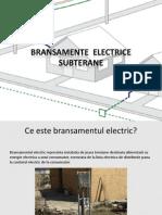 Bransamente Electrice Subterane