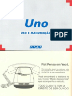 Manual do Proprietário do Fiat Uno SX