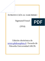 Introducción al Narcisismo, Sigmund Freud (1914)