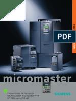 Variador Micro Master Siemens