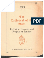 Liber 777 the Cathedral of the Soul, 1940