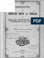 Proschinitar al Sfantului Munte al Atonului, Bucuresti, 1856