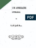 Esboços de Apreciações Literárias, de Camilo Castelo Branco