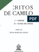 Escritos de Camilo, por Júlio Dias da Costa