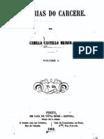 Memórias do Cárcere, por Camilo Castelo Branco