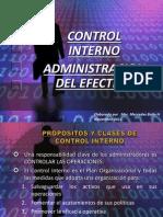 Control y Manejo de Efectivo