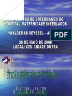 Etica e Postura Profissionalpra Aula de Etica Enfermagem