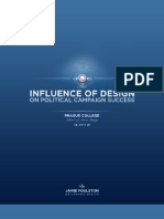 The influence of design on political campaign success