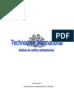 Control administrativo. Caso Technocron International