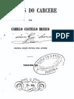 Memórias do Cárcere, de Camilo Castelo Branco