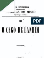 O Cego de Landim, de Camilo Castelo Branco