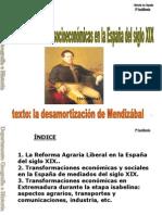 Tema 7. Transformacionessocioeconómicas en la España del siglo XIX.