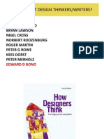 Further reading to think design