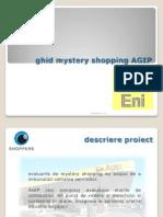 Instructiuni mistery shopping