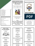 Preschool Brochure2012
