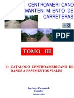 Catálogo Centroamericano de Daños a Pavimentos Viales